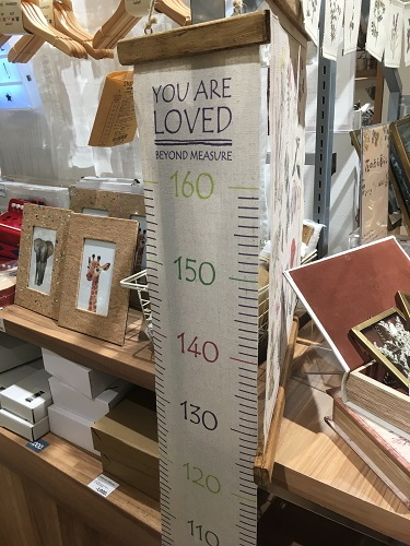 ウォールステッカー身長計 | 100均セリア、IKEA、ニトリ、salut!