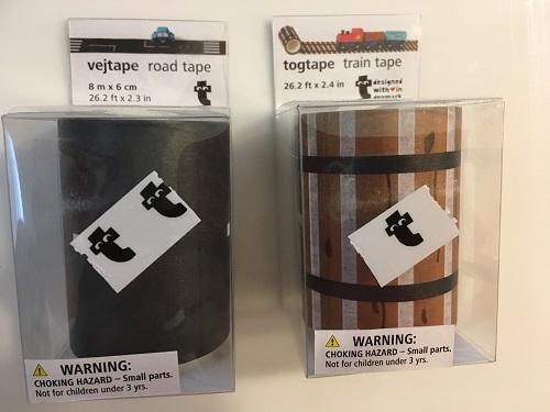 フライングタイガー・candoの道路・線路マスキングテープで暇つぶし