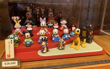 ボンボヤージュ ディズニーひな人形・ひな祭り2021