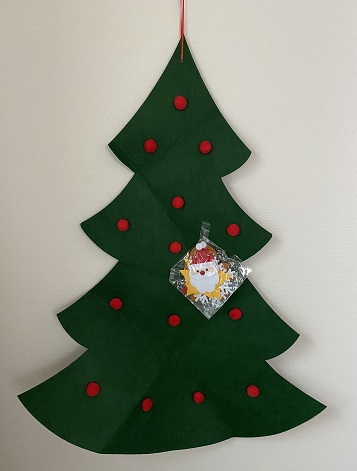 壁掛けクリスマスツリー・タペストリーツリー2020