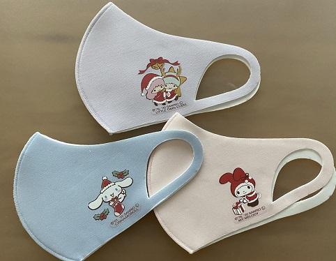 イオンでクリスマス柄マスクが販売されています!